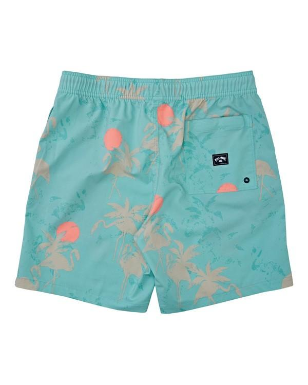 "BILLABONG Sundays Layback 17"" Boardshorts Sea Green MENS APPAREL - Men's Boardshorts Billabong"