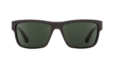 SPY Frazier Black - HD Plus Grey Green Sunglasses