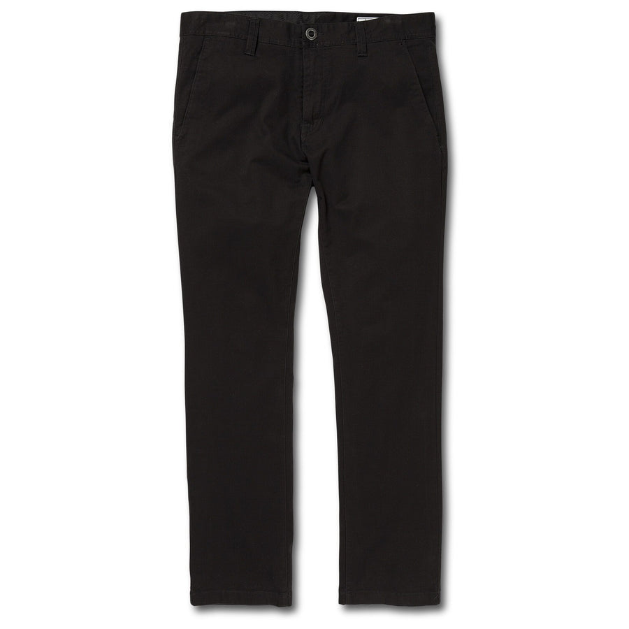 VOLCOM Frickin Slim Chino Pants Black