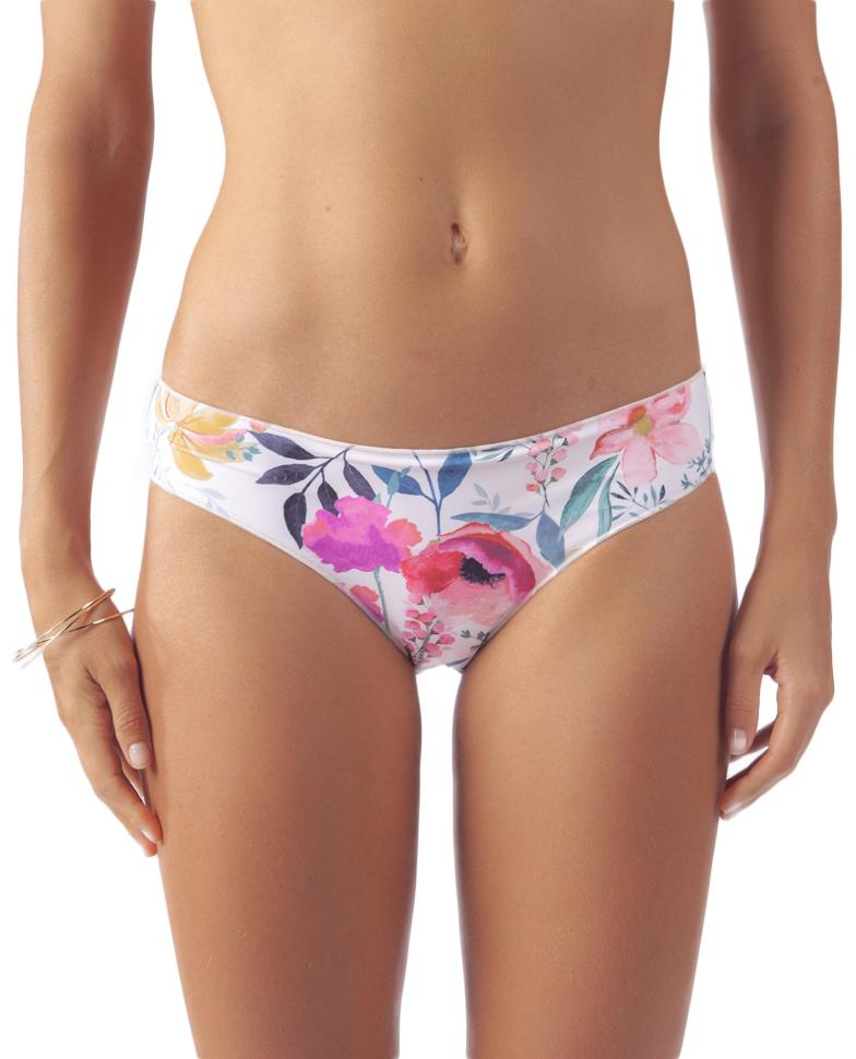 RIP CURL Meadowbrook Cheeky Hips Bikini Bottom Off White