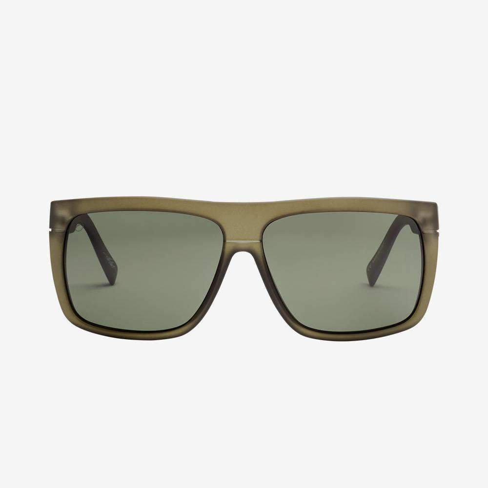Electric Black Top Sunglasses Gloss Black With OHM Grey Lens Blacktop