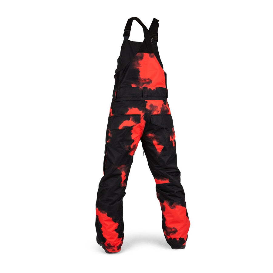 VOLCOM Barkley Bib Overall Snowboard Pants Youth Magma Smoke 2021 YOUTH INFANT OUTERWEAR - Youth Snowboard Pants Volcom