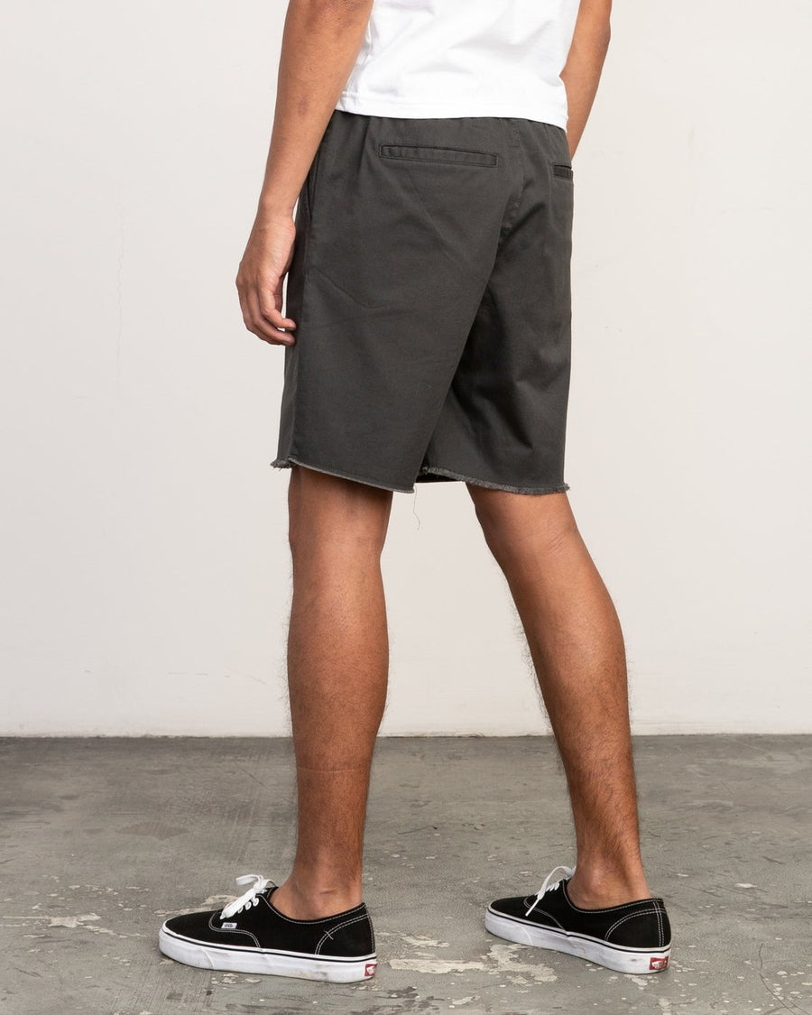 RVCA Weekend Elastic Walkshorts Pirate Black