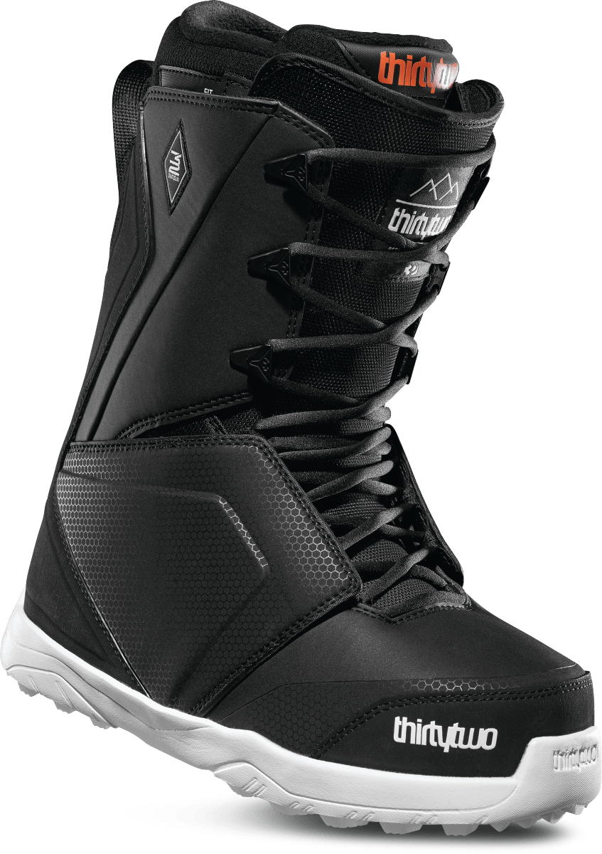THIRTY TWO Lashed Black Snowboard Boots 2019 SNOWBOARD BOOTS - Men's Snowboard Boots Thirtytwo
