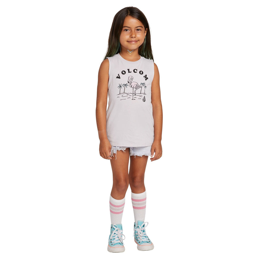 VOLCOM Love Tank Girls Violet Ice KIDS APPAREL - Girl's Tops Volcom