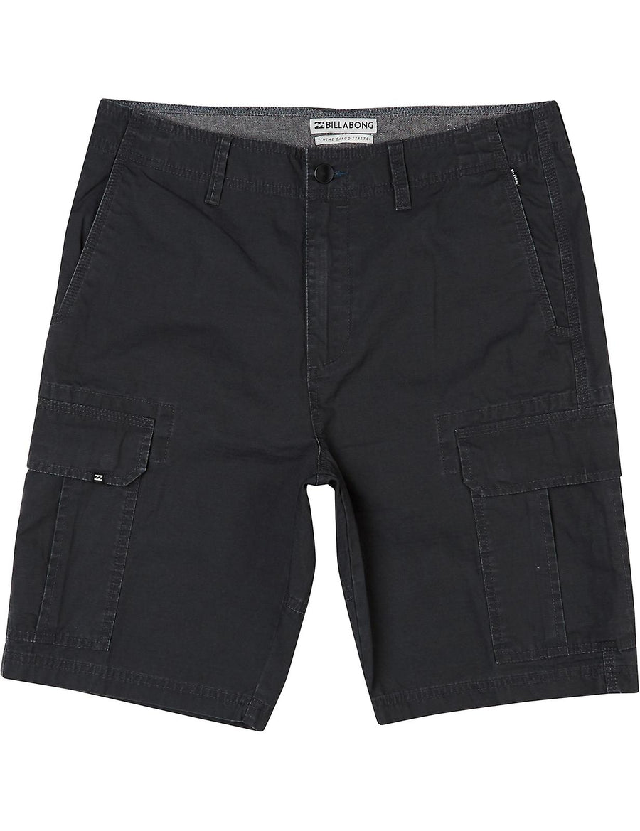 BILLABONG Scheme Cargo Shorts Charcoal