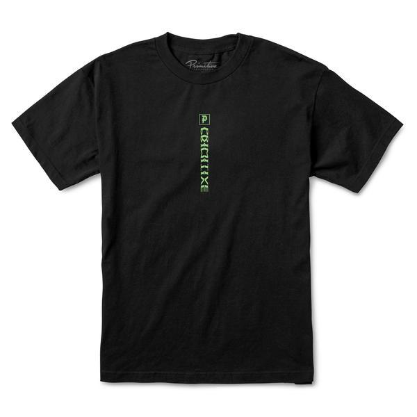 PRIMITIVE Check Out T-Shirt Black MENS APPAREL - Men's Short Sleeve T-Shirts Primitive