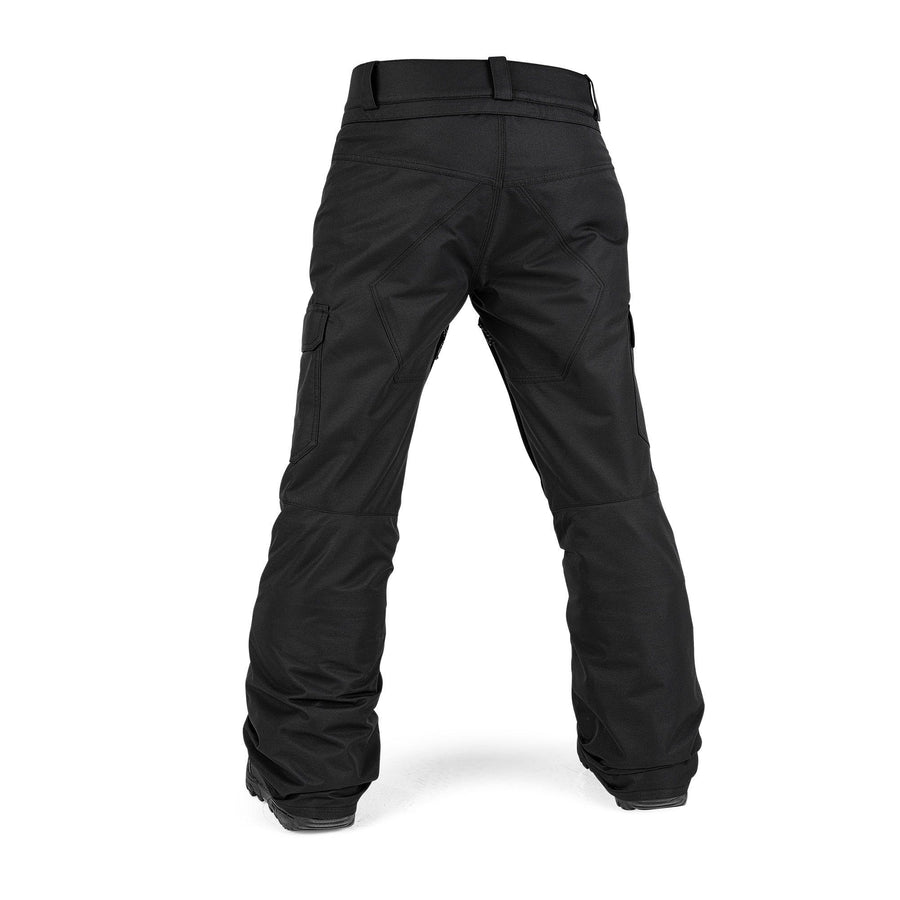 VOLCOM Cargo Insulated Snowboard Pants Boys Black 2021 YOUTH INFANT OUTERWEAR - Youth Snowboard Pants Volcom