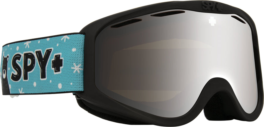 SPY Cadet Wildlife Friends - HD Bronze with Silver Spectra Mirror Snow Goggles GOGGLES - Spy Goggles Spy