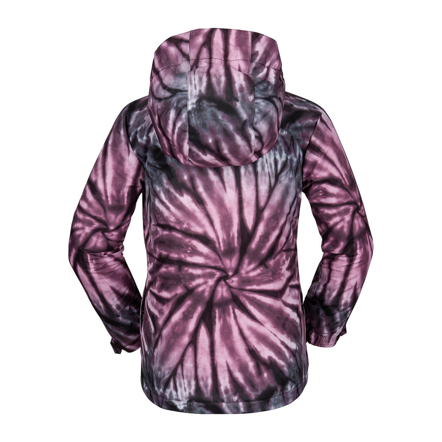 VOLCOM Westerlies Insulated Girls Snowboard Jacket Purple 2020 YOUTH INFANT OUTERWEAR - Youth Snowboard Jackets Volcom L