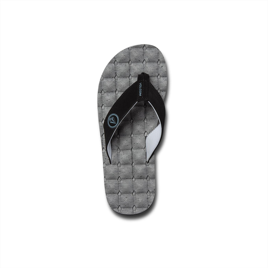VOLCOM Recliner Sandals Fog Grey FOOTWEAR - Men's Sandals Volcom