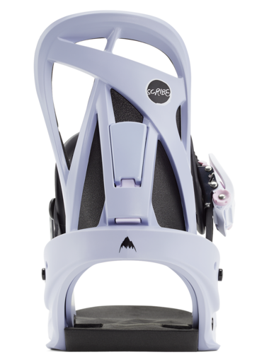 BURTON Scribe Re:Flex Women's Snowboard Binding Light Periwinkle 2021