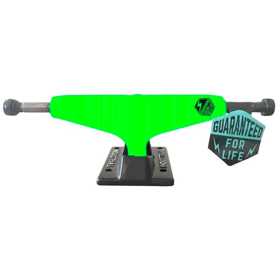 INDUSTRIAL Neon Green/Black 5.0 Skateboard Trucks