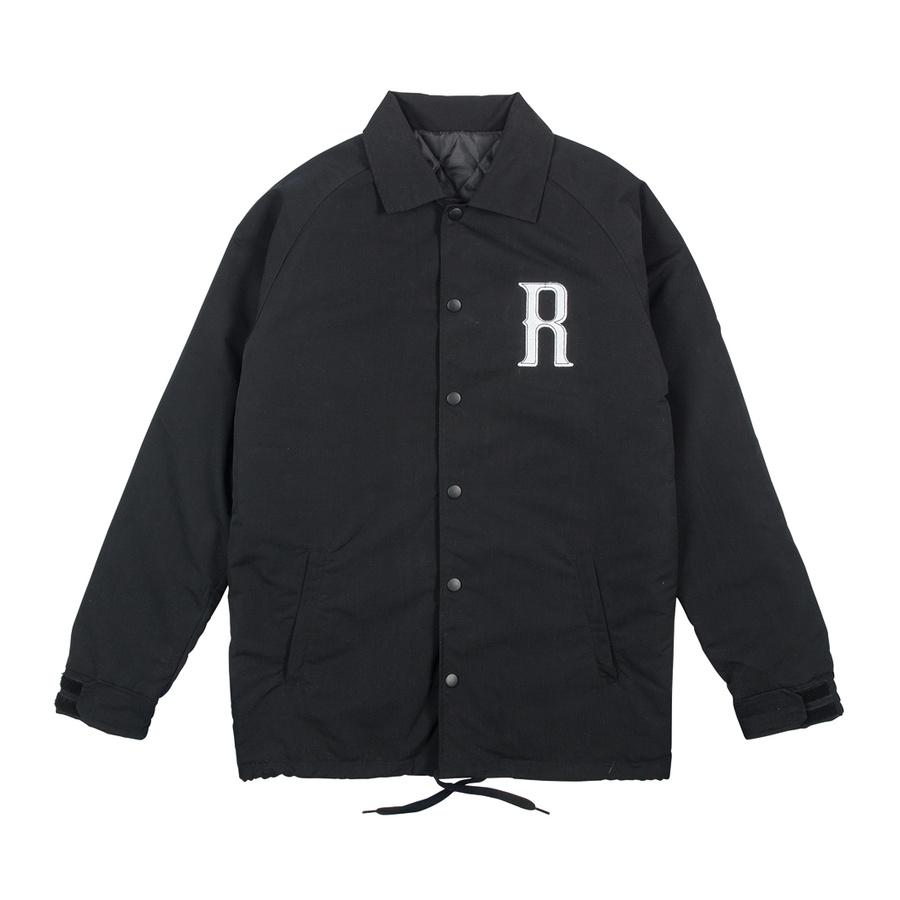 ROME Grounds Crew Jacket Black MENS APPAREL - Men's Street Jackets Rome