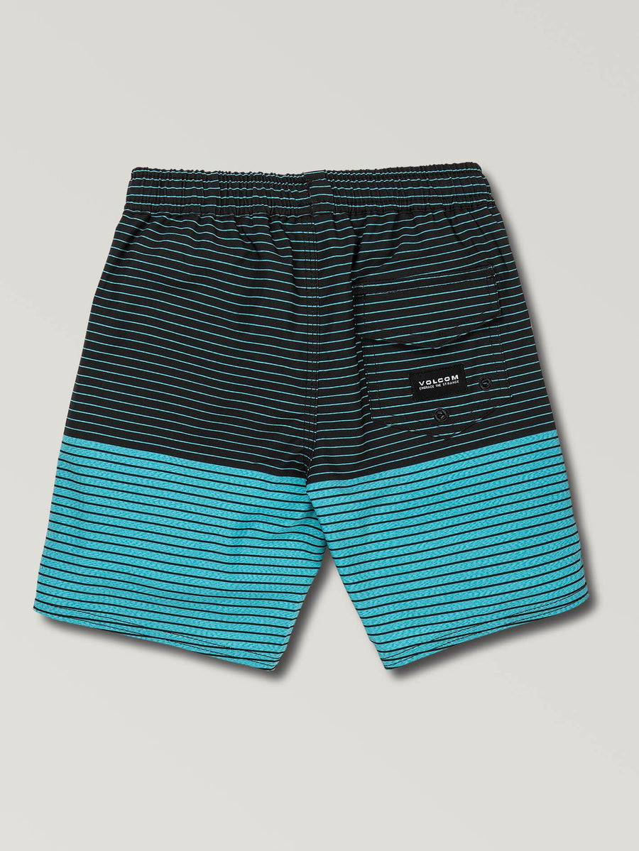 VOLCOM Lido Heather Boardshorts Boys Cyan Blue