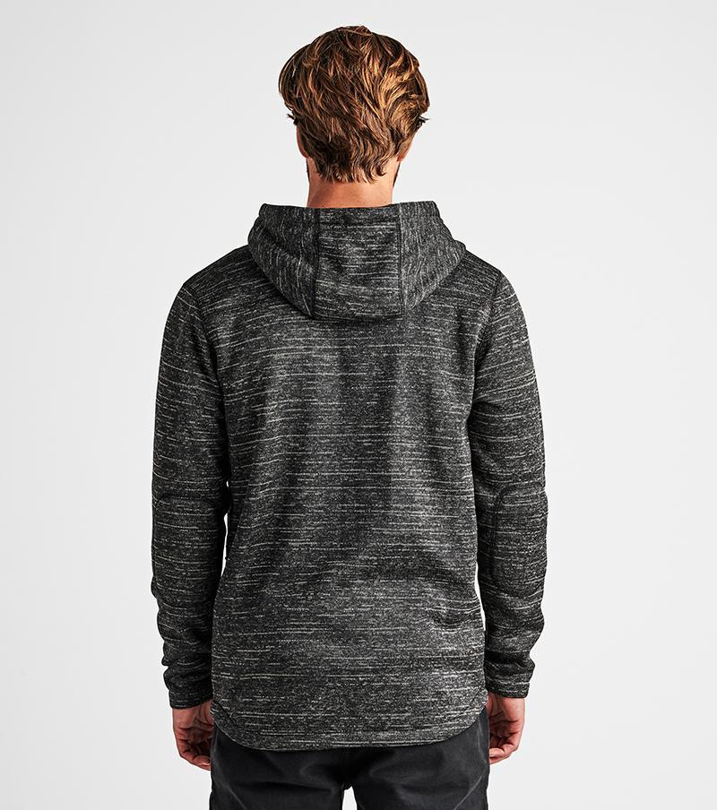 ROARK Roadrunner Performance Zip Hoodie Charcoal MENS APPAREL - Men's Zip Hoodies Roark Revival