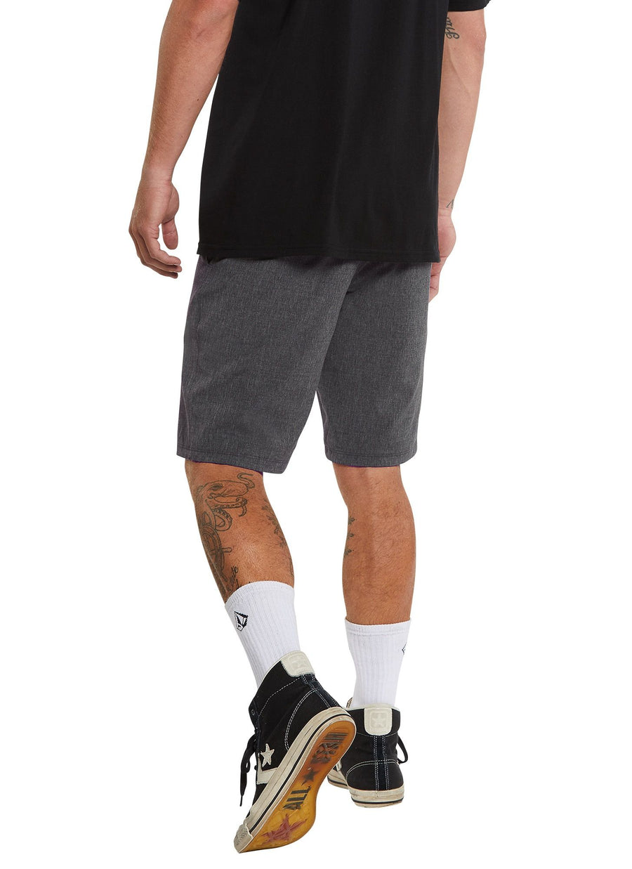 VOLCOM Frickin SNT Static 2 Hybrid Shorts Charcoal Heather