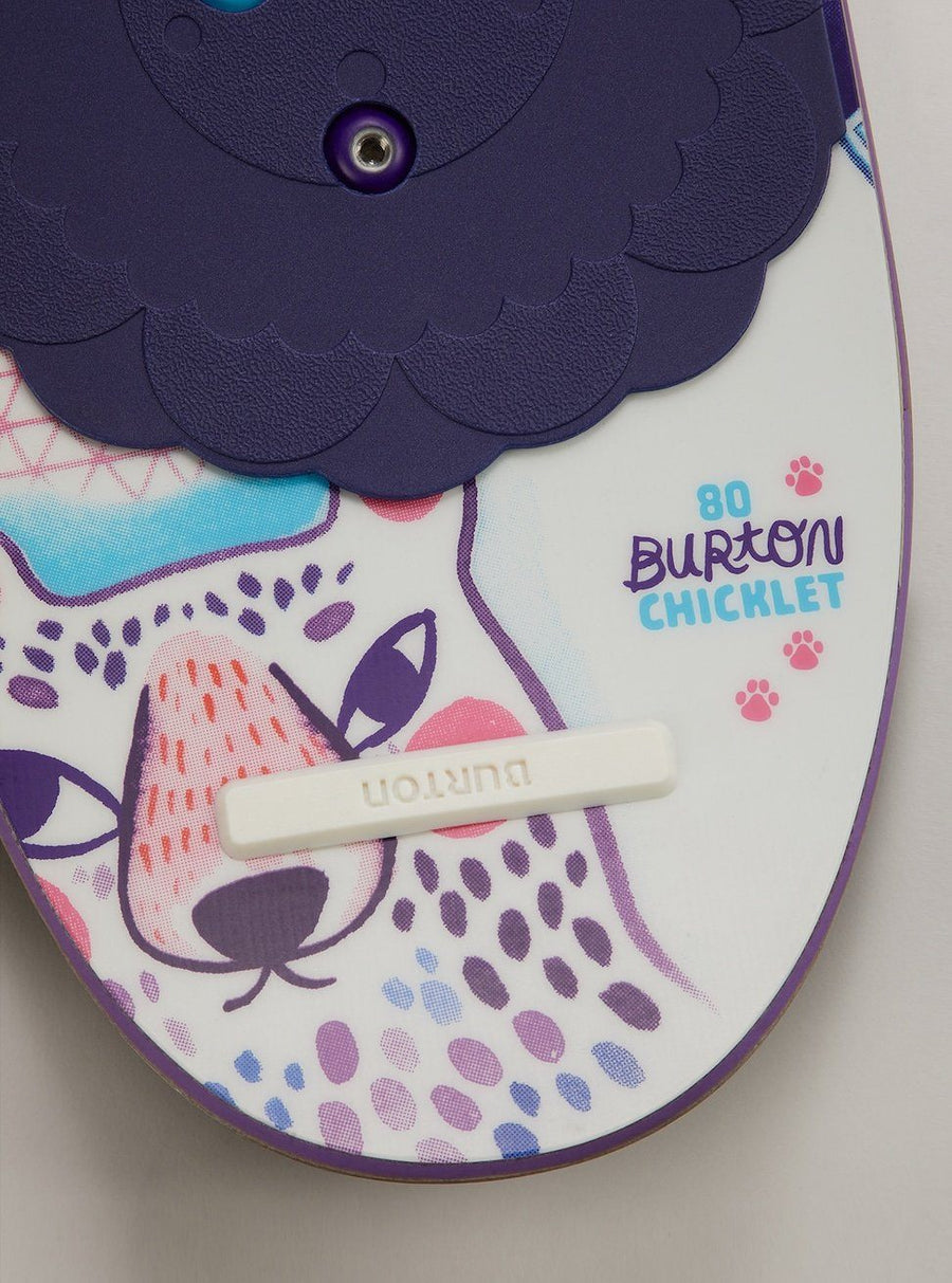 BURTON Chicklet Flat Top Girls Snowboard 2020