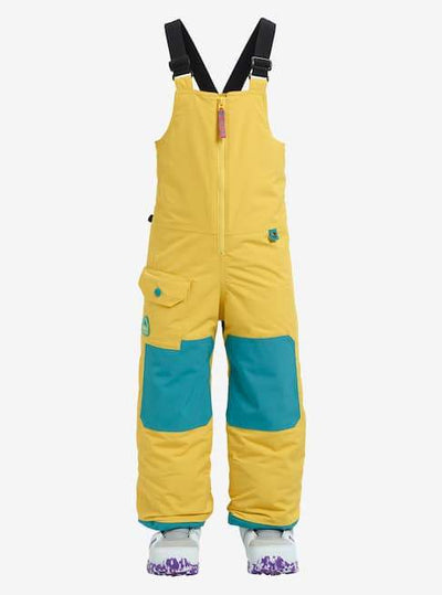 BURTON Maven Toddler Bib Pant Sun Glow 2019 YOUTH INFANT OUTERWEAR - Infant Outerwear Burton 3T