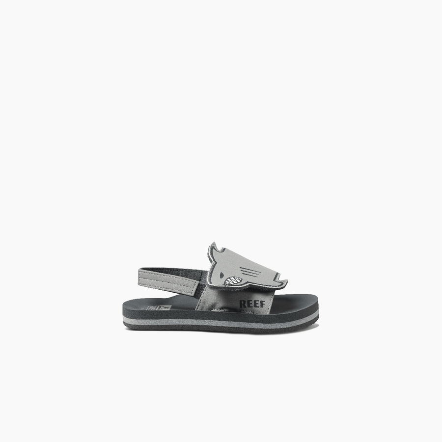 REEF Little Ahi Chompers Sandals Kids Baby Shark FOOTWEAR - Youth Sandals Reef