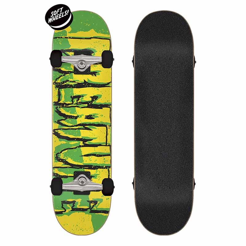 CREATURE Ripped Logo 7.5 Skateboard Complete