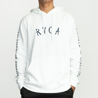 RVCA ANP Pack Hoodie Antique White
