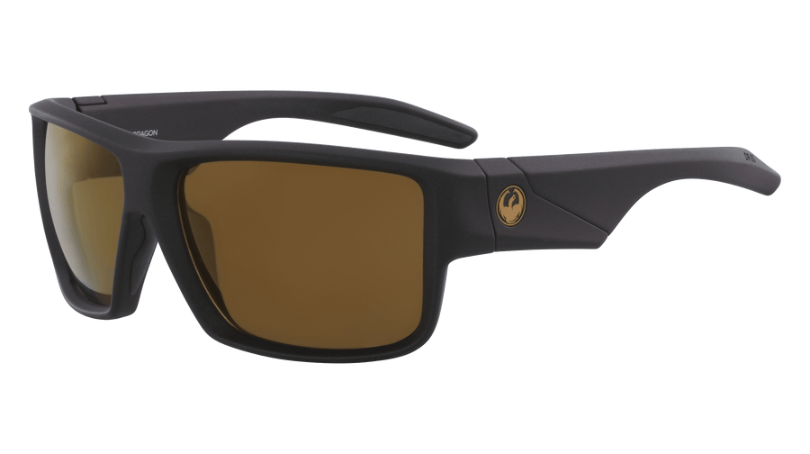 DRAGON Deadlock H20 Matte Black - Copper Polarized Sunglasses SUNGLASSES - Dragon Sunglasses Dragon