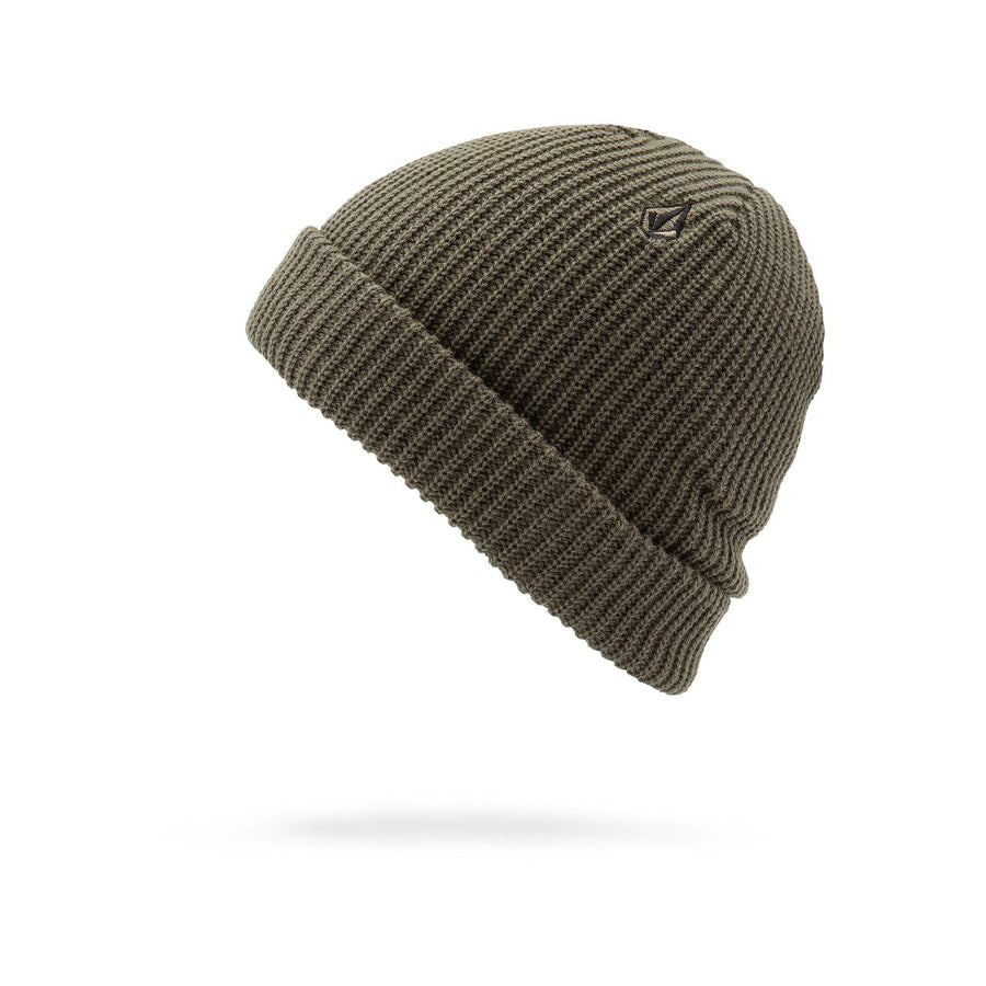VOLCOM Sweep Beanie Dark Teak MENS ACCESSORIES - Men's Beanies Volcom