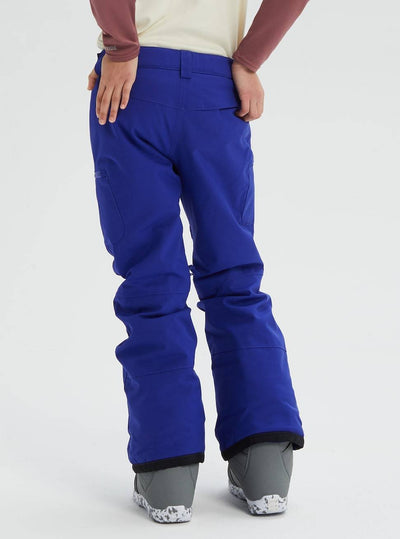 BURTON Elite Cargo Snowboard Pants Girls Royal Blue 2020