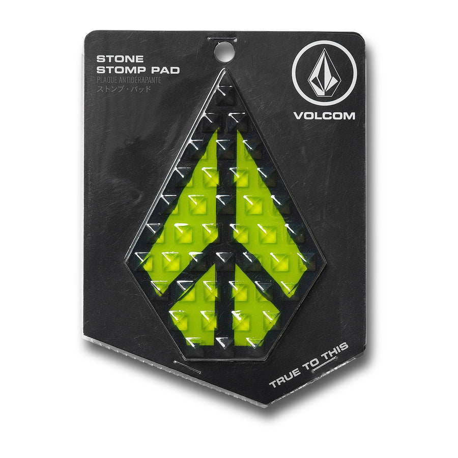 VOLCOM Stone Stomp Pad Lime SNOWBOARD ACCESSORIES - Snowboard Stomp Pads Volcom