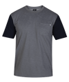 HURLEY Dri-Fit Bridge Pocket T-Shirt Cool Grey/Obsidian