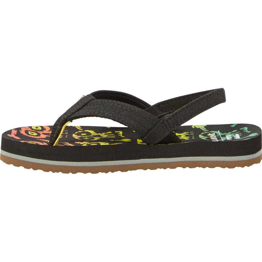BILLABONG Stoked Kids Sandals Skull FOOTWEAR - Youth Sandals Billabong SKULL 1