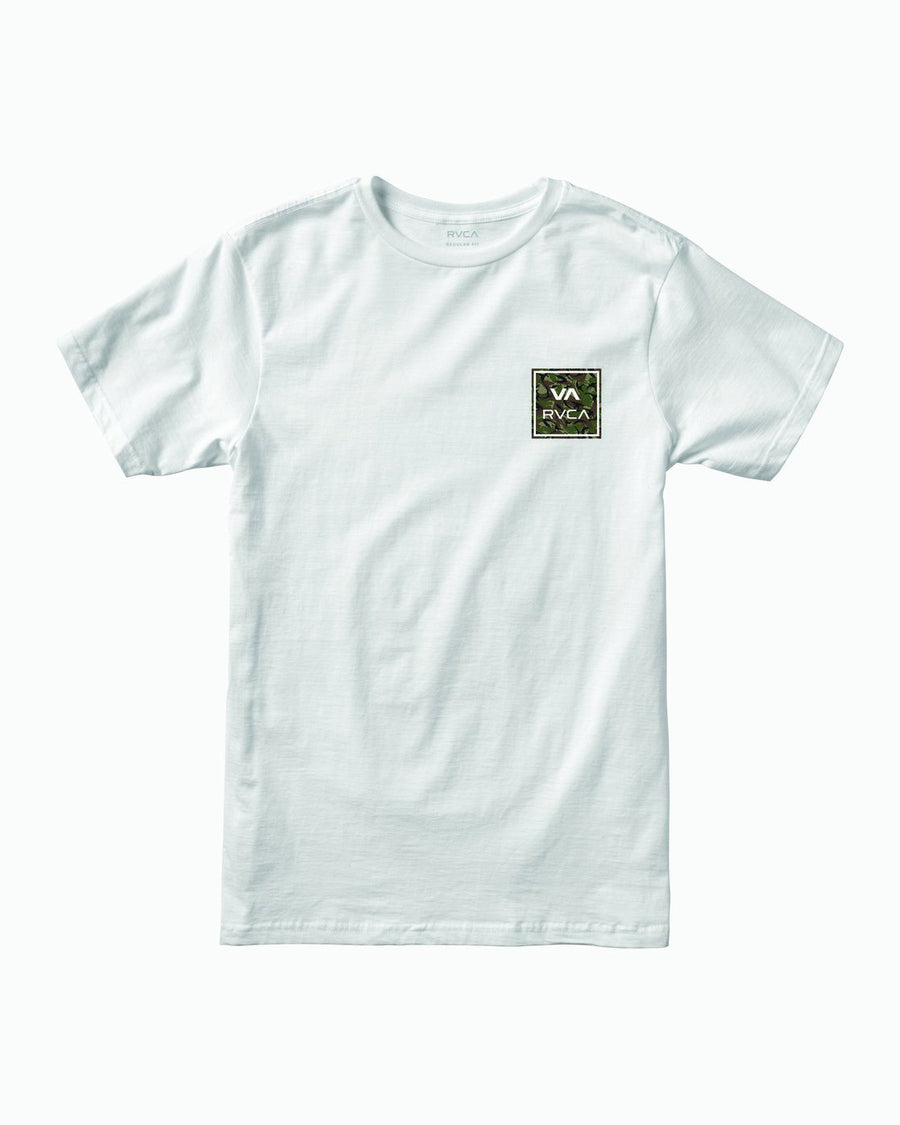 RVCA VA All The Way T-Shirt White MENS APPAREL - Men's Short Sleeve T-Shirts RVCA