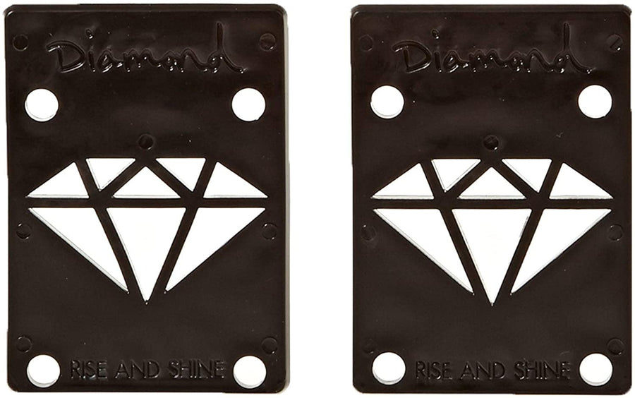 "DIAMOND Rise & Shine Black 1/8"" Riser Pads"
