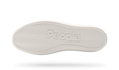PEOPLE The Phillips Really Black - Picket White Shoes Womens