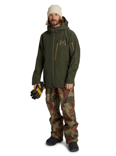 BURTON [ak] GORE-TEX Cyclic Snowboard Jacket Forest Night 2021 MENS OUTERWEAR - Men's Snowboard Jackets Burton