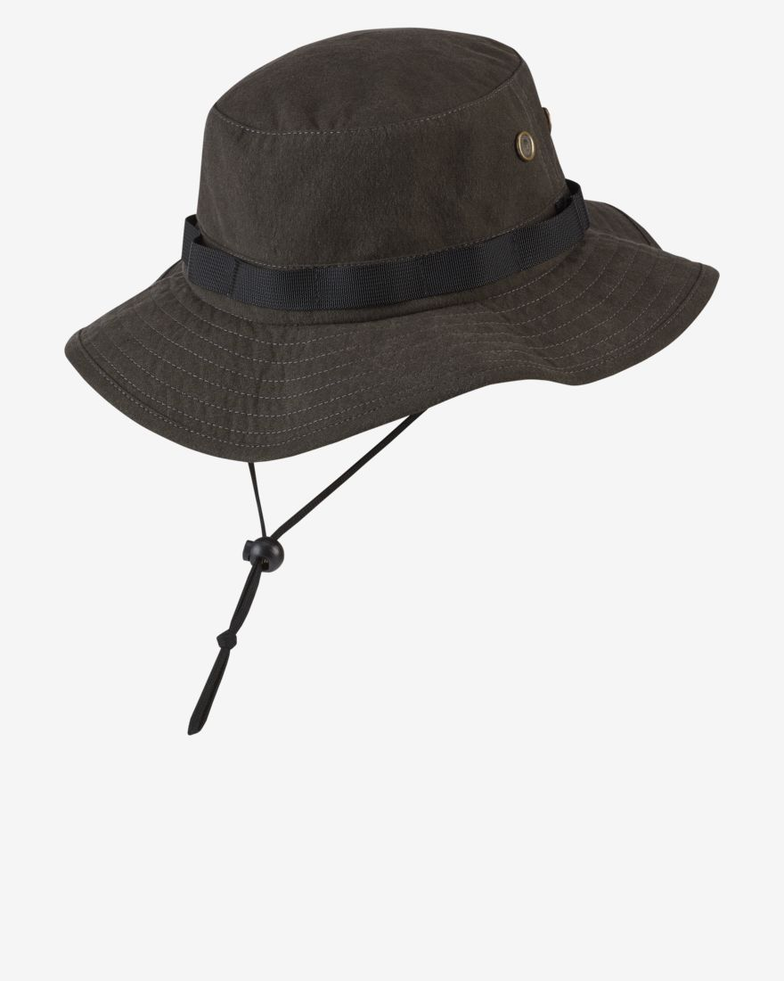 Hurley Cryptik Mana Boonie Hat Black MENS ACCESSORIES - Men's Bucket Hats Hurley L/XL