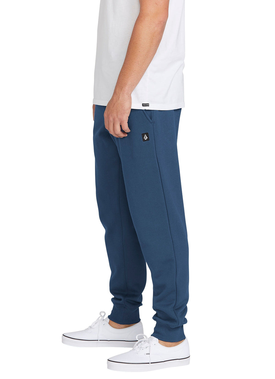 VOLCOM Single Stone Sweatpants Smokey Blue MENS APPAREL - Men's Sweatpants Volcom L