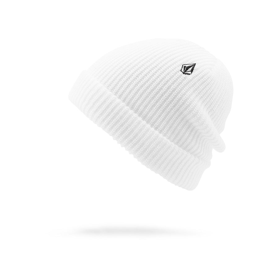 VOLCOM Sweep Beanie White MENS ACCESSORIES - Men's Beanies Volcom