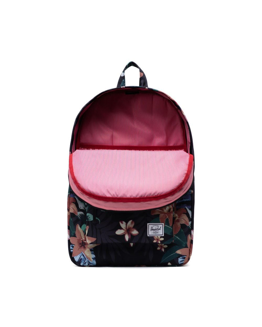 HERSCHEL Heritage Backpack Summer Floral Black ACCESSORIES - Street Backpacks Herschel Supply Company