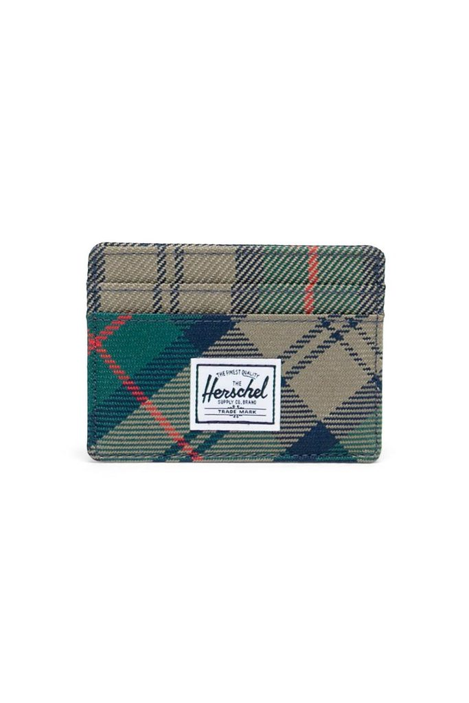 HERSCHEL Charlie Wallet Eden Plaid MENS ACCESSORIES - Men's Wallets Herschel Supply Company