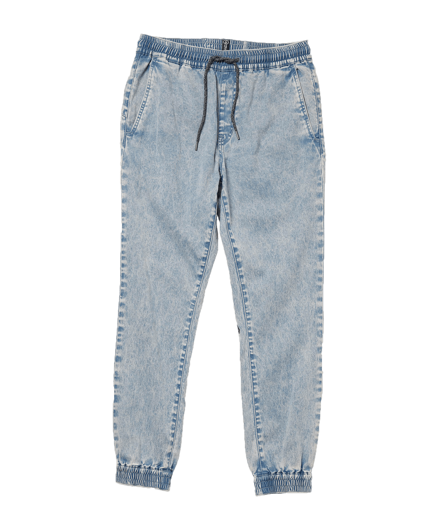 VOLCOM Frickin Slim Joggers Boy's Cloud Blue KIDS APPAREL - Boy's Denim and Pants Volcom