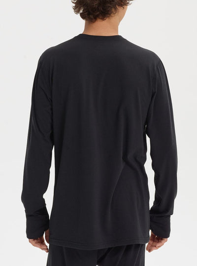BURTON Midweight Base Layer Crew Top True Black MENS OUTERWEAR - Men's Base Layer Burton