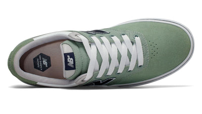 NEW BALANCE Numeric 255 Shoes Sage/Navy FOOTWEAR - Men's Skate Shoes New Balance