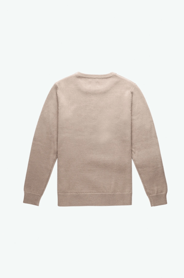 RHYTHM Blend Knit Sweater Natural