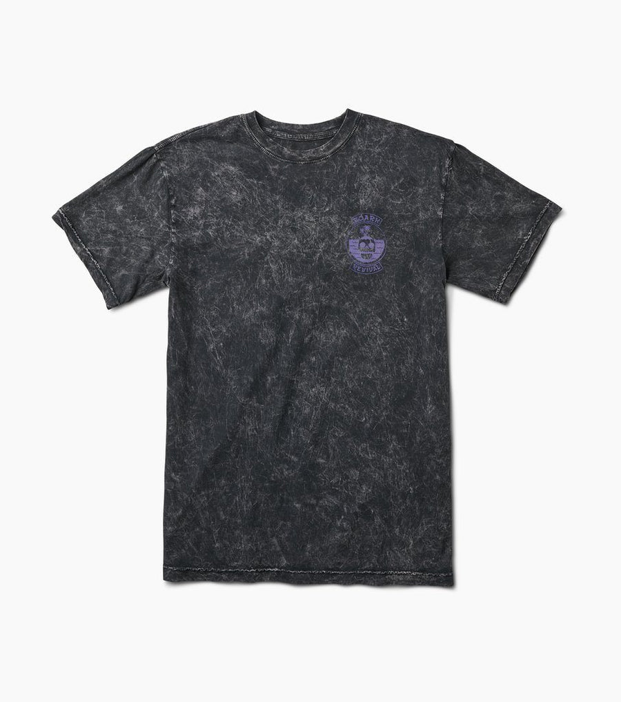 ROARK Island Theory T-Shirt Black