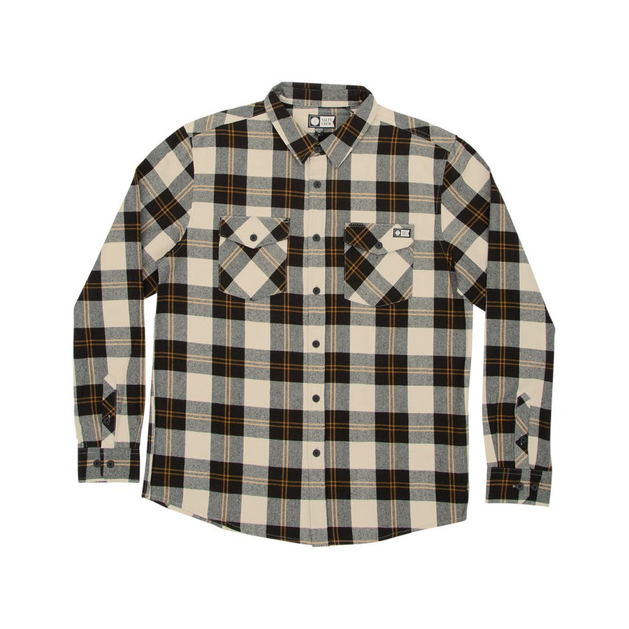SALTY CREW Inshore Flannel Natural