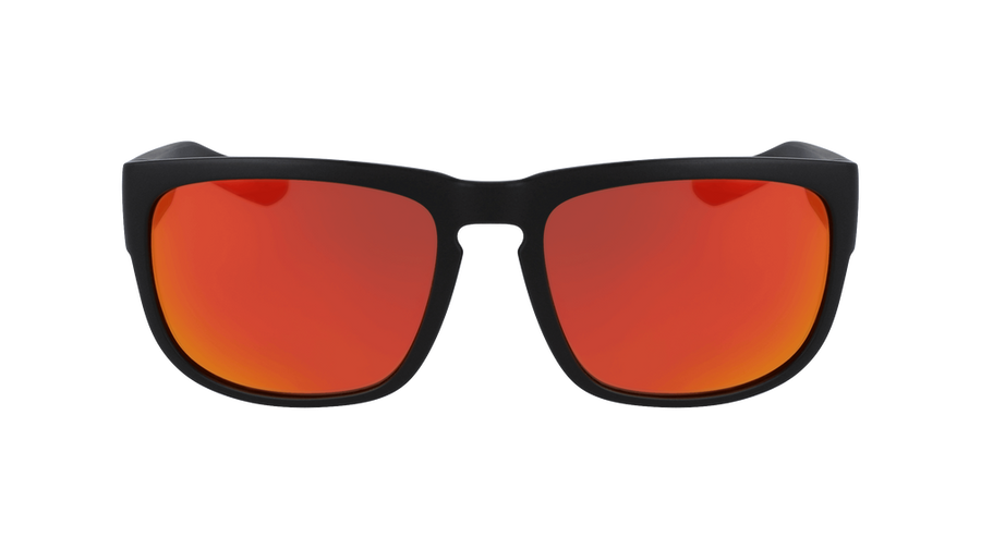 DRAGON Rune Matte Black - Orange Ion Sunglasses