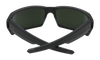 SPY General Soft Matte Black - HD Plus Grey Green Sunglasses SUNGLASSES - Spy Sunglasses Spy