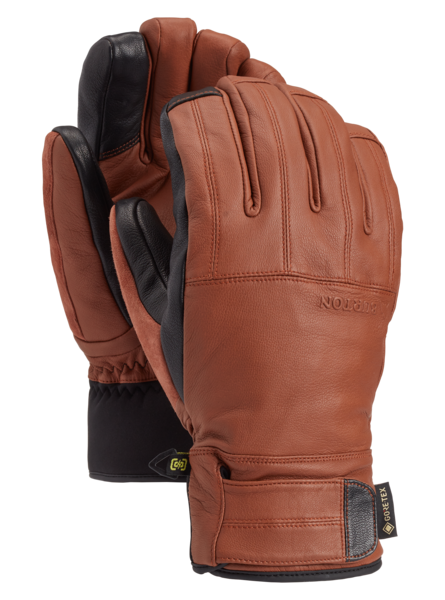 BURTON Gondy GORE-TEX Leather Glove True Penny WINTER GLOVES - Men's Snowboard Gloves and Mitts Burton